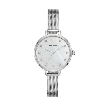 Kate Spade  New York Uhr  -  KSW1490 Metro Classic Watch Silver  - in silber  -  Uhr für Damen grau