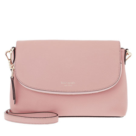 Kate Spade  New York Umhängetasche  -  Polly Lg Convertible Flap Crossbody Bag Flapper Pink  - in rosa  -  Umhängetasche für Damen braun