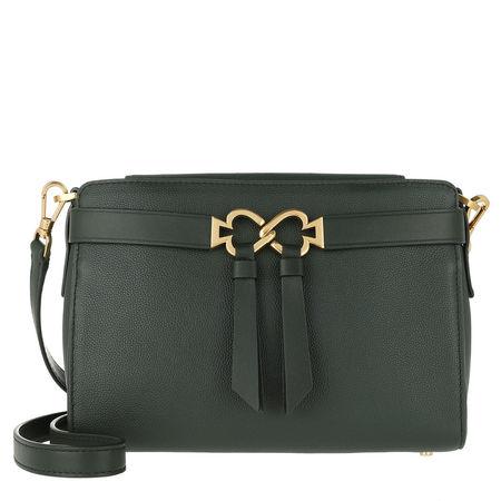 Kate Spade  New York Umhängetasche  -  Toujours Medium Crossbody Bag Deep Evergreen  - in grün  -  Umhängetasche für Damen grau
