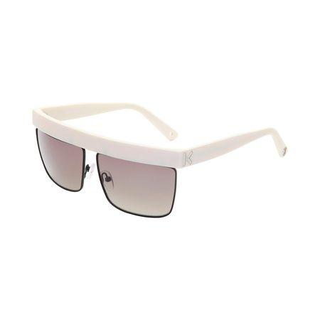 Kenzo  Sonnenbrille Creme beige