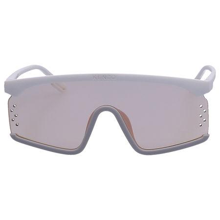 Kenzo  Sonnenbrille Shield 4001OU 21X Acetat weiß