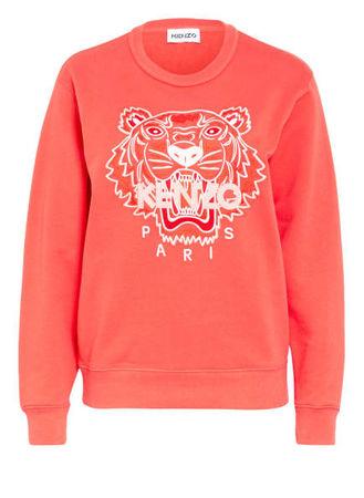 Kenzo  Sweatshirt Tiger pink rot