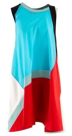 Koché  - Kleid aus Stoffmix blau