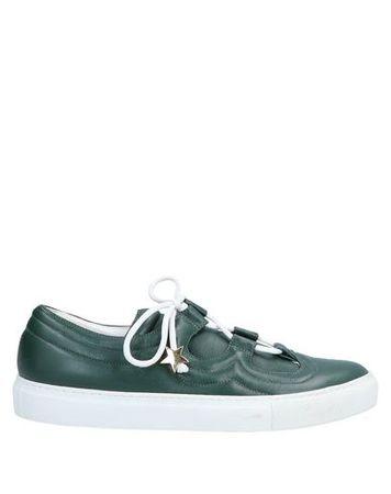 L'Autre Chose L' AUTRE CHOSE 37 Damen Dunkelgrün Low Sneakers & Tennisschuhe Leder blau