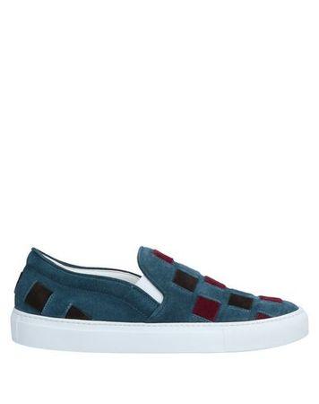 L'Autre Chose L' AUTRE CHOSE 37 Damen Petroleum Low Sneakers & Tennisschuhe Leder blau