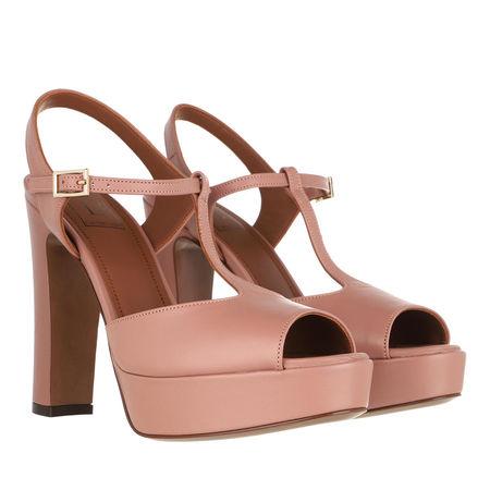 L'Autre Chose L´Autre Chose Pumps & High Heels - Heel Sandals Lamb Leather - in Quarz - für Damen rot