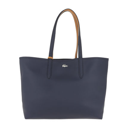 Lacoste  Shopper  -  Shopping Bag Peacoat Cashew  - in marine  -  Shopper für Damen grau