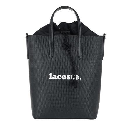 Lacoste  Tote  -  Chantaco Animation Vertical Shopping Bag Anthracite  - in schwarz  -  Tote für Damen grau