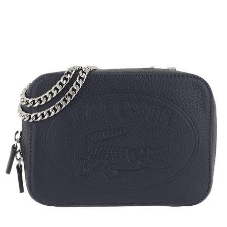 Lacoste  Umhängetasche  -  Crossover Bag Peacoat  - in marine  -  Umhängetasche für Damen grau