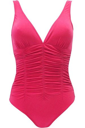 Lahco Padded Badeanzug pink