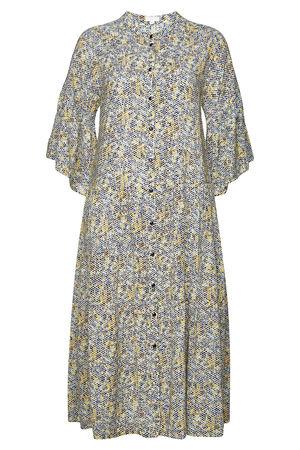 Lala Berlin  Shirt-Dress Ilia mit Print braun