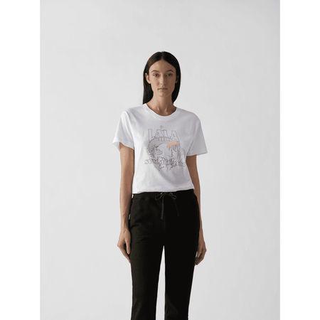Lala Berlin T-Shirt mit Print