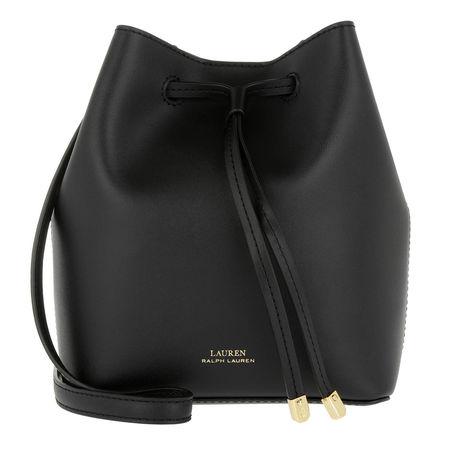 Lauren Ralph Lauren  Beuteltasche - Debby Ii Drawstring Mini - in schwarz - für Damen schwarz