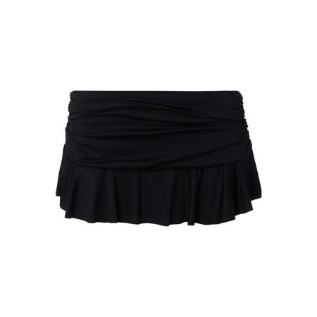 Lauren Ralph Lauren Bikini-Slip mit Volantbesatz schwarz