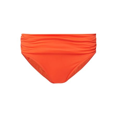 Lauren Ralph Lauren Bikinislip mit Volantbesatz orange