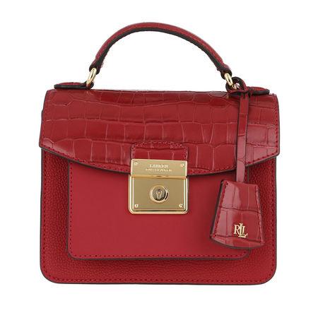 Lauren Ralph Lauren  Satchel Bag  -  Beckett 19 Satchel Small Red  - in rot  -  Satchel Bag für Damen rot