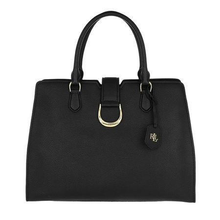 Lauren Ralph Lauren  Satchel Bag  -  Kenton City Satchel Medium Black  - in schwarz  -  Satchel Bag für Damen schwarz