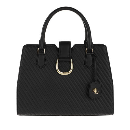 Lauren Ralph Lauren  Tote  -  City Satchel Medium Black  - in schwarz  -  Tote für Damen schwarz
