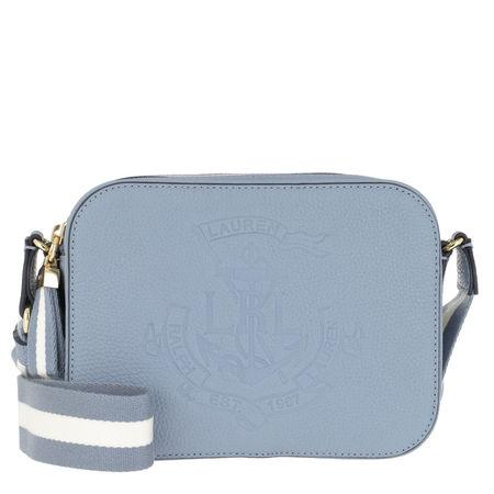 Lauren Ralph Lauren  Umhängetasche  -  Huntley Camera Bag Medium Blue Mist  - in blau  -  Umhängetasche für Damen grau