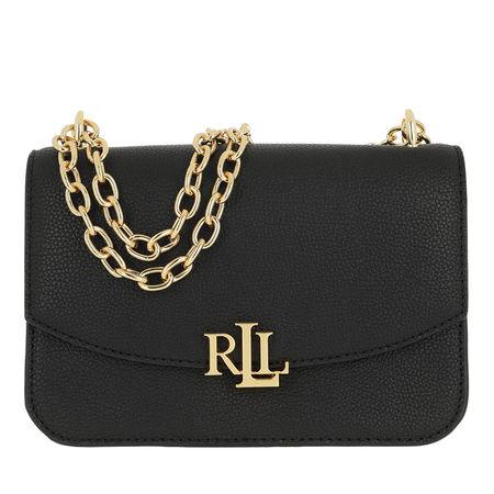 Lauren Ralph Lauren  Umhängetasche  -  Madison Crossbody Medium Black  - in schwarz  -  Umhängetasche für Damen schwarz