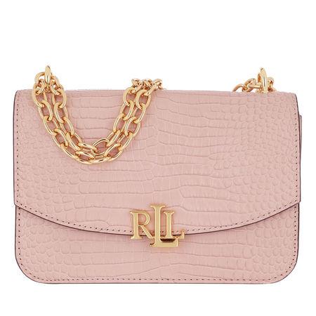 Lauren Ralph Lauren  Umhängetasche  -  Madison Crossbody Medium Mellow Pink  - in rosa  -  Umhängetasche für Damen braun