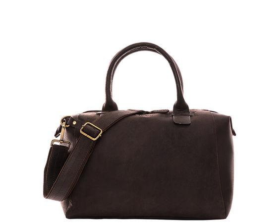 Leabags  Handtasche Baltimore schwarz