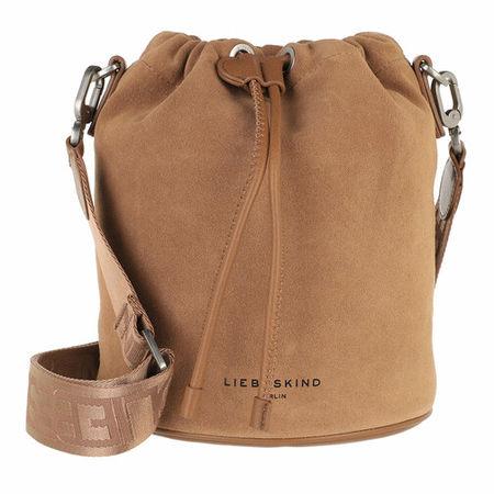 Liebeskind Berlin  Beuteltasche - Bucket Bag Small - in fawn - für Damen