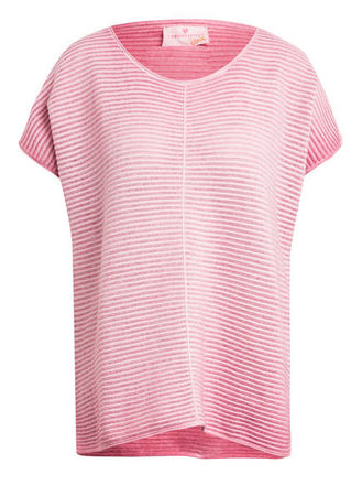 Lieblingsstück  Oversized-Strickshirt Hjördis rosa rot