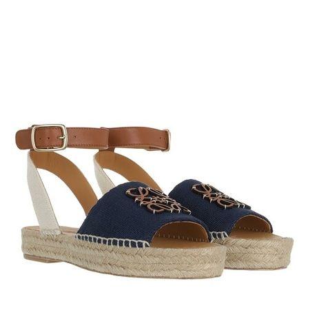 Loewe  Sandalen & Sandaletten - Espadrilles - in dark blue - für Damen