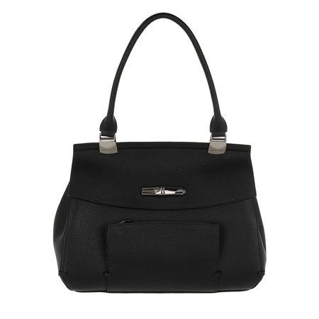 Longchamp  Satchel Bag  -  Madeleine Top Handle Bag S Black  - in schwarz  -  Satchel Bag für Damen schwarz