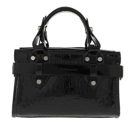 Longchamp  Tote  -  La Voyageuse LGP Verni Small Tote Bag Black  - in schwarz  -  Tote für Damen schwarz