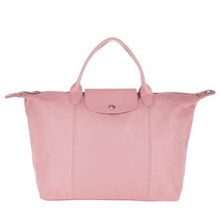 Longchamp  Tote  -  Le Pliage Cuir Tote Blush  - in rosa  -  Tote für Damen rot