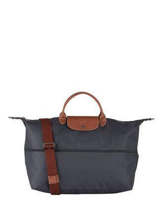 Longchamp  Weekender Le Pliage grau grau