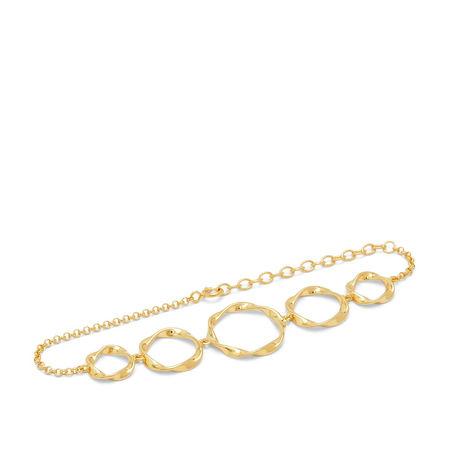 Louise Kragh  Armband  -  Bracelet N´ROLL-02-05 Gold  - in gold  -  Armband für Damen orange