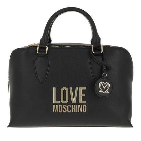 Love Moschino  Bowling Bag - Borsa Bonded Pu - in schwarz - für Damen