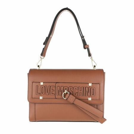 Love Moschino  Satchel Bag - Borsa Pu Cuoio - in braun - für Damen