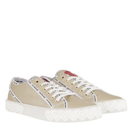 Love Moschino  Sneakers  -  Sneaker Vulcanized Platino  - in gold  -  Sneakers für Damen braun