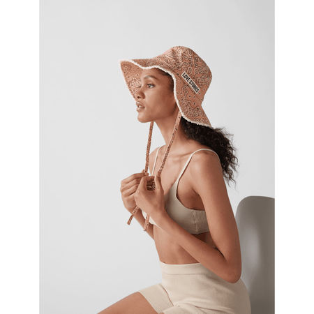 Love Stories Intimates Bucket Hat mit Allover-Muster