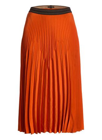 Luisa Cerano  Plisseerock orange orange