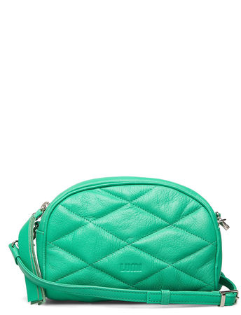 LUMI Ebba Quilted Crossbody Bags Small Shoulder Bags - Crossbody Bags Grün  gruen