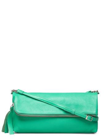 LUMI Stefanie Large Pouch Bag Bags Small Shoulder Bags - Crossbody Bags Grün  gruen