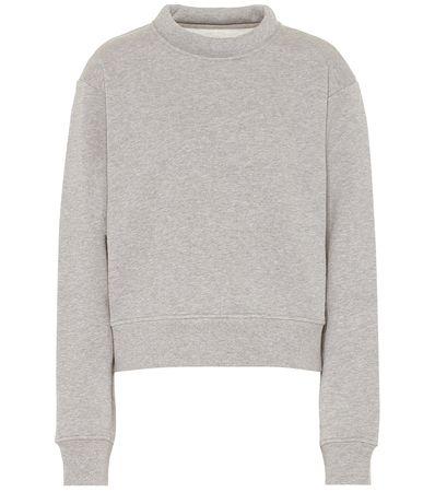 Maison Martin Margiela Sweatshirt aus Baumwolle grau