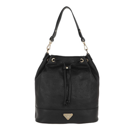 Maison Mollerus  Beuteltasche - Niesen Bucketbag - in schwarz - für Damen schwarz