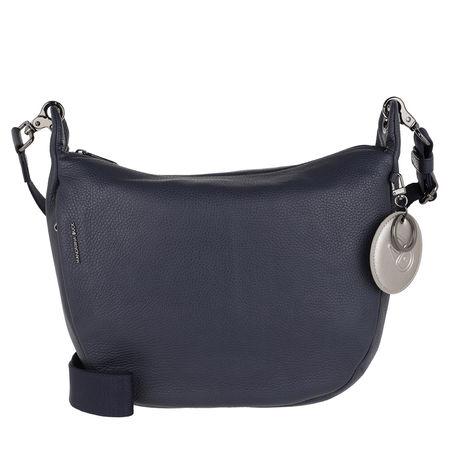 Mandarina Duck  Umhängetasche  -  Mellow Leather Tracolla Dress Blue  - in blau  -  Umhängetasche für Damen grau
