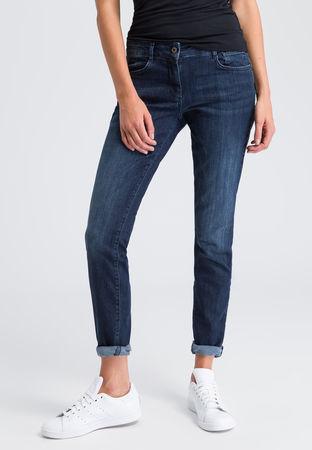 Marc Aurel  Jeans mit Powerstretch Damen grau