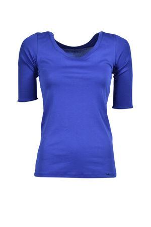 Marc Cain  Hochwertiges Basic-Shirt, Pflaume Damen blau
