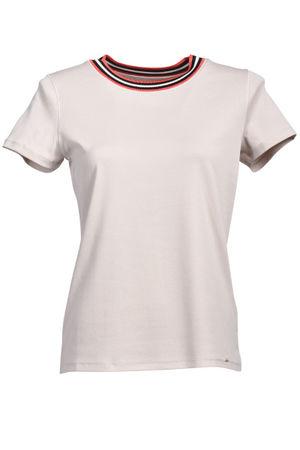 Marc Cain  Jersey-Shirt, Ecru Damen
