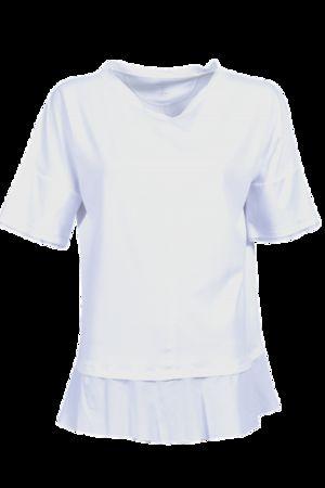 Marc Cain  T-Shirt, weiß Damen