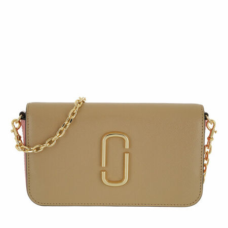 Marc Jacobs  Crossbody Bags - Snapshot Crossbody Bag With Chain - in beige - für Damen