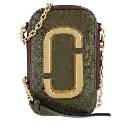 Marc Jacobs  Crossbody Bags - The Hot Shot Shoulder Bag Leather - in braun - für Damen braun